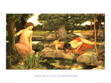 Echo and Narcissus  c1903