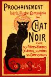 Chat Noir Poster par Théophile Alexandre Steinlen