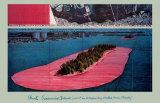 Iles encerclées (1982) Reproduction d'art par Christo