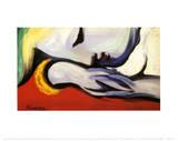 Au repos Reproduction d'art par Pablo Picasso
