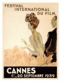 Festival International du Film, Cannes, 1939 Giclée par Jean-Gabriel Domergue