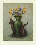 Cat & Vase IV