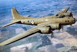 A Boeing B-17 Flying Fortress  1944