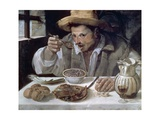 The Bean Eater  1584-85