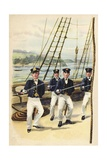 The Future King Geoge V as a Naval Cadet  1877