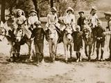 Children Donkey Riding on Hampstead Heath