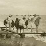Seaside Fun  Exmouth  C1911