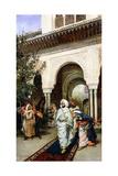 Leaving the Alhambra  1887