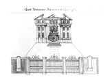 Lord Bateman's House in Soho Square  1764