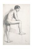 Nude Study  C1858