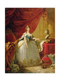 Portrait of the Dowager Tsarina Maria Feodorovna