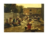 Women Washing in River