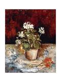 Still-Life Pot of Geraniums  1886
