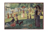 Study for 'A Sunday on La Grande Jatte'  1884