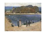 The Bathing Pool  North Berwick  1919