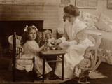 Doll's Tea Party  C1890