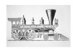 The 'JB Turner' Locomotive  1867