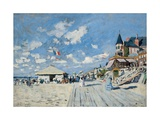 On the Beach at Trouville  1870