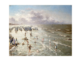 The Beach at Ostend  1892