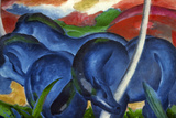 Big Blue Horses