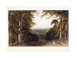 Windsor Castle from the Deer Park  C1827-1829