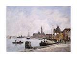 The Quay on Giudecca  Venice  1895