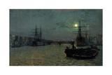 London Bridge - Half Tide  1884