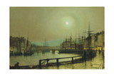 A Moonlit Harbour  1883