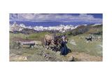 Springtime in the Alps  1897