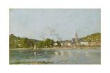 The Seine at Caudebec-En-Caux  1889