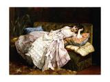 A Reclining Beauty  1877