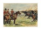 King George V Reviewing His Troops at Aldershot