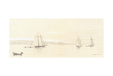 Fishing Fleet at Gloucester  1880