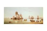 Ships in a Calm  1873