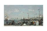 The Regatta at Le Havre  1869