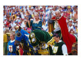 Kaltenberg Knight Tournament, Kaltenberg, Upper Bavaria, Bavaria, Germany Reproduction d'art