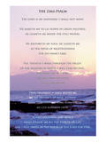 23e psaume Reproduction d'art
