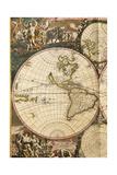 Nova Orbis Tabula in Lucem Edita by Frederik De Wit