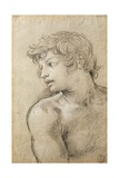 Figure of Young Man Study for Golden Age