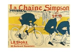 Poster for Catene Simpson  1896