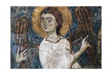 Angel  Detail of Fresco from Rock Church of San Vito Vecchio