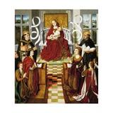 Virgin of Catholic Monarchs  1490-1495