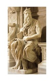 Moses  Detail from Tomb of Julius II