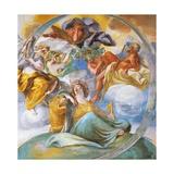 Frescoes of Gallery in Villa Chigi  Rome