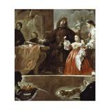 Homage to Velazquez for Count of Santiesteban  1692-1700