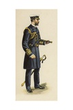 The Duke of Cornwall and York During His Naval Service  1892