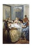 Parisian Ladies of Second Empire  1886