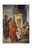 Saint John Baptist on Threshold of Prison