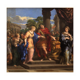 Caesar Giving Cleopatra the Throne of Egypt  C1637