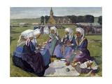 Women of Plougastel at Pardon De Saint Anne-La-Palud